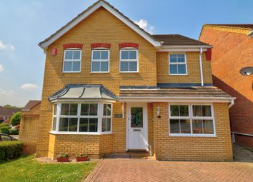 Thumbnail 4 bed detached house for sale in Markham Road, Cheshunt, Waltham Cross