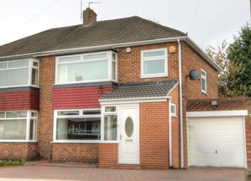 Thumbnail 3 bed semi-detached house for sale in Chapel House Road, Newcastle Upon Tyne