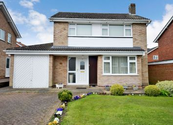 Thumbnail 3 bed detached house for sale in Winslow Drive, Wigston, Leicester