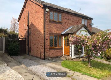 Thumbnail 2 bed semi-detached house to rent in Penmore Gardens, Hasland, Chesterfield