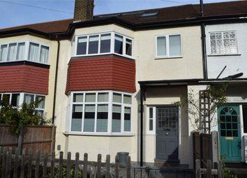 Thumbnail 4 bed terraced house for sale in Cross Deep Gardens, Twickenham