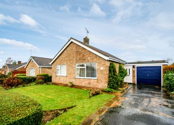 Thumbnail 2 bed detached bungalow for sale in Lynmouth Close, North Hykeham, Lincoln