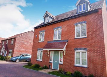 Thumbnail 5 bed detached house for sale in Crown Street, Hucknall