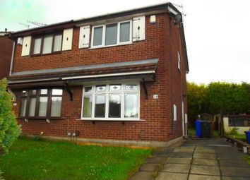Thumbnail 2 bed semi-detached house to rent in Pinhoe Place, Stoke-On-Trent