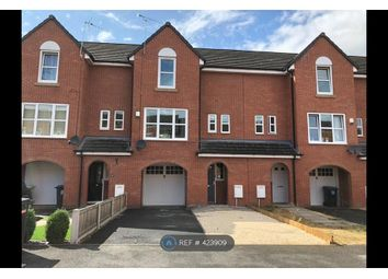 Thumbnail 4 bed terraced house to rent in Lambert Crescent, Nantwich