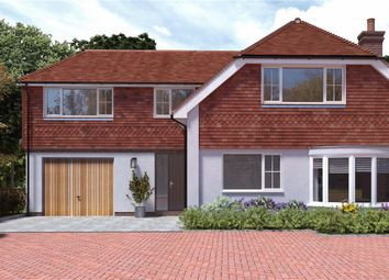 Thumbnail 4 bed detached house for sale in Wheatsheaf Fields, Popham Lane, North Waltham, Hampshire