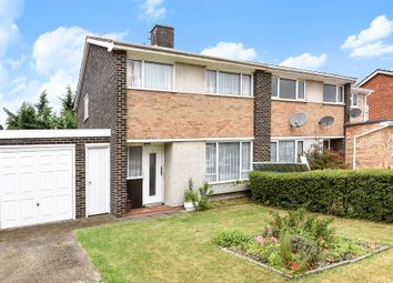 Thumbnail 3 bed semi-detached house for sale in Charnwood Close, New Malden