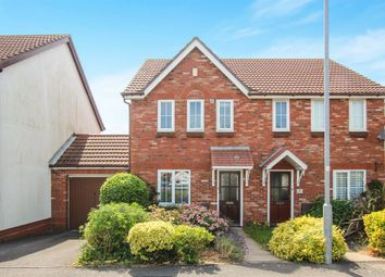 Thumbnail 3 bed semi-detached house for sale in Badger Close, Portslade, Brighton