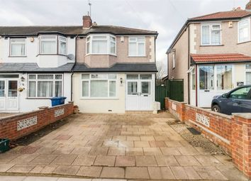 Thumbnail 3 bed end terrace house for sale in Conway Crescent, Perivale, Greenford