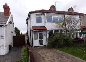 Thumbnail 3 bedroom end terrace house for sale in Lawsons Road, Thornton-Cleveleys, Lancashire
