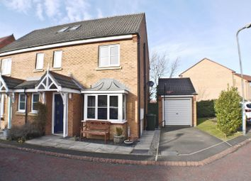 Thumbnail 4 bed semi-detached house for sale in Towneley Court, Prudhoe, Prudhoe, Northumberland
