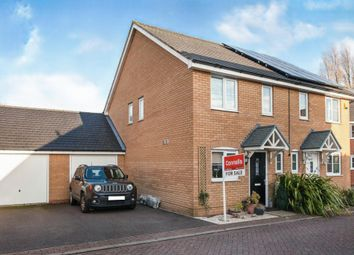 Thumbnail 2 bed semi-detached house for sale in Windmill Place, Papworth Everard, Cambridge
