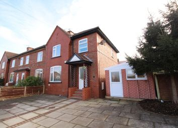 Thumbnail 3 bed semi-detached house for sale in Stokoe Avenue, Altrincham