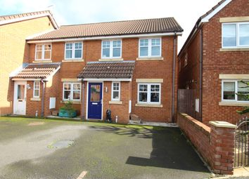 Thumbnail 3 bed town house for sale in Threadneedle Court, St Helens, Merseyside
