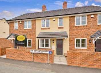 Thumbnail 2 bed terraced house for sale in The Cottages Gardens, Wellington Road, Muxton