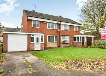 Thumbnail 3 bed semi-detached house for sale in Redwood Road, Sinfin, Derby