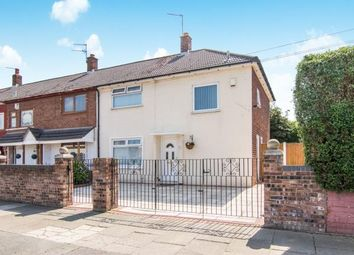 Thumbnail 3 bedroom end terrace house for sale in Simons Croft, Bootle, Liverpool, Merseyside