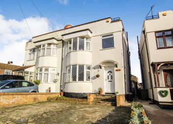 Thumbnail 3 bed semi-detached house for sale in Horndon Road, Collier Row, Romford