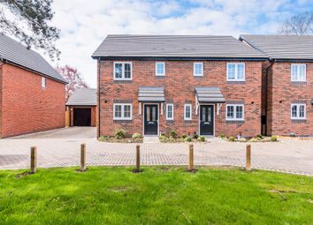 Thumbnail 3 bed semi-detached house for sale in Manor Grove, Eccleshall Road, Stafford