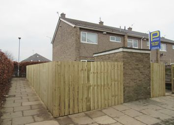 Thumbnail 3 bed terraced house for sale in Lichfield Close, Ashington