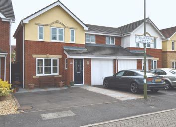 Thumbnail 3 bed semi-detached house for sale in Roebuck Drive, Priddys Hard, Gosport