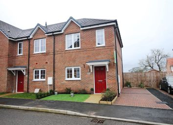 Thumbnail 2 bed semi-detached house for sale in Nable Hill Close, Chilton, Ferryhill