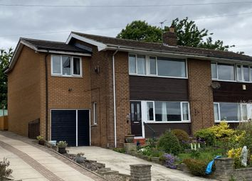 Thumbnail 4 bed semi-detached house for sale in Mayster Grove, Brighouse, West Yorkshire