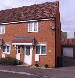 Thumbnail 2 bed terraced house to rent in The Glebe, Clapham, Bedford