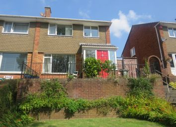 Thumbnail 3 bedroom semi-detached house for sale in Waddon Close, Plympton, Plymouth