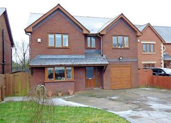 Thumbnail 4 bed detached house for sale in Maes Morgan, Nantybwch, Tredegar, Blaenau Gwent