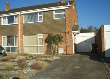 Thumbnail 3 bed semi-detached house to rent in Crown Drive, Bishops Cleeve, Cheltenham