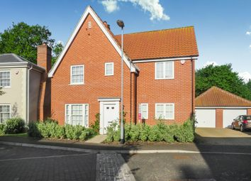 Thumbnail 4 bed detached house for sale in Woodward Avenue, Necton, Swaffham