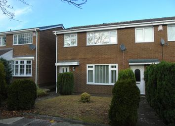 Thumbnail 3 bed terraced house for sale in Wansford Way, Whickham, Newcastle Upon Tyne