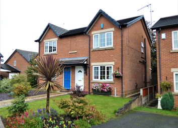 Thumbnail 3 bed semi-detached house for sale in Delves Broughton Court, Haslington, Crewe