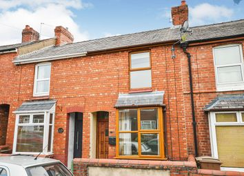Thumbnail 2 bed terraced house for sale in Llwyn Road, Oswestry, Shropshire