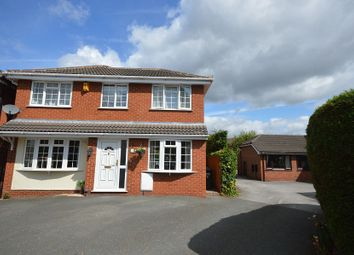 Thumbnail 4 bed detached house for sale in Holly Heath Close, Sandbach