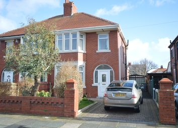 Thumbnail 3 bedroom semi-detached house for sale in Westby Avenue, Blackpool