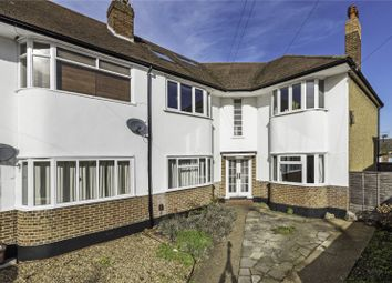 Thumbnail 3 bed flat for sale in Lavender Close, Carshalton