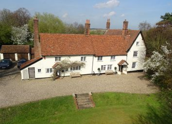 Thumbnail 6 bed farmhouse for sale in Badley, Ipswich