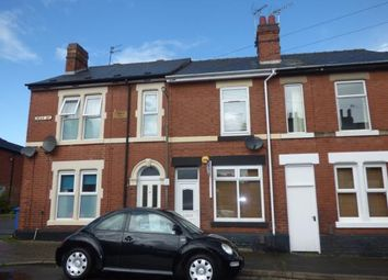 Thumbnail 2 bed terraced house for sale in May Street, Derby, Derbyshire