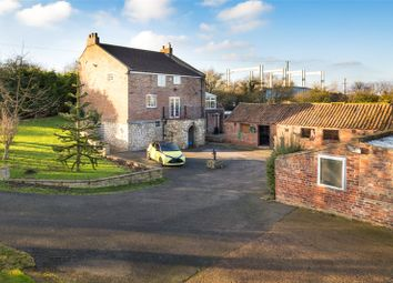 Thumbnail 4 bed equestrian property for sale in New Bridge Farm, East Cowick