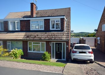 Thumbnail 3 bed semi-detached house for sale in Deerpark Crescent, Wingerworth, Chesterfield