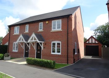 Thumbnail 3 bed semi-detached house for sale in Frearson Road, Hugglescote, Leicestershire