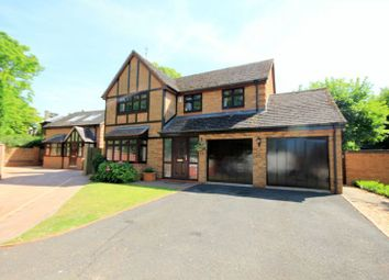 Thumbnail 4 bed detached house for sale in Rowley Hall Drive, Stafford