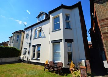 Thumbnail 2 bed flat for sale in Harvey Road, Bournemouth, Dorset