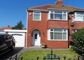Thumbnail 3 bed semi-detached house to rent in Rutland Avenue, Thornton-Cleveleys