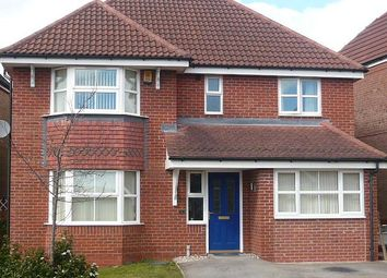 Thumbnail 5 bed detached house to rent in Badgers Croft, Chesterton, Newcastle