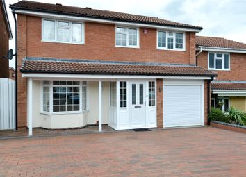 Thumbnail 4 bed detached house for sale in Crabtree Close, Northfield, Birmingham