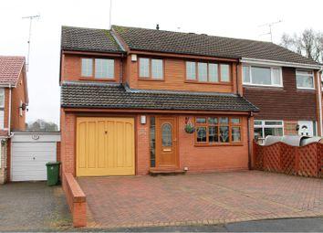 Thumbnail 4 bed semi-detached house for sale in Wrekin Walk, Stourport-On-Severn