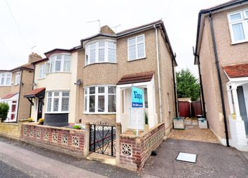 Thumbnail 3 bed semi-detached house for sale in Cedar Road, Romford